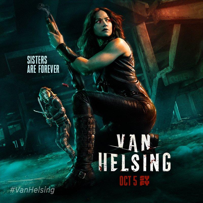 Van Helsing 3. Sezon Afiş